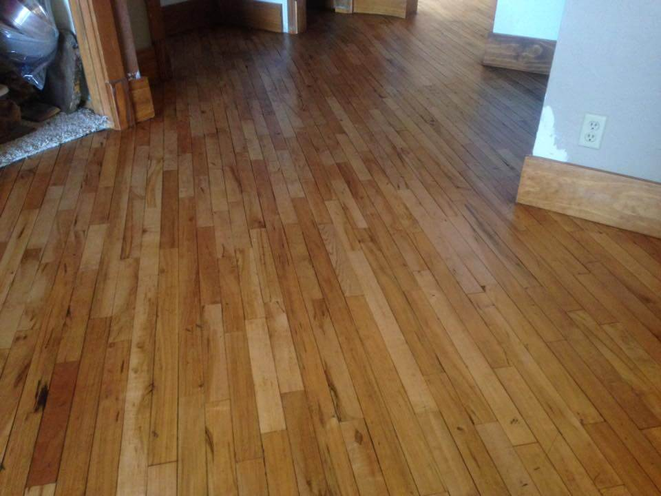New Hardwood Floor Refinishing ​Coopersville MI